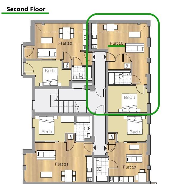 Second Floor (unit 16)